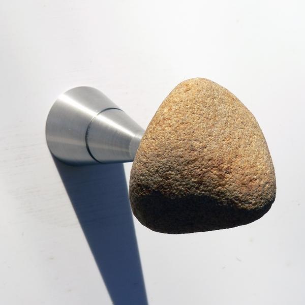 Insilvis STONES, appendiabiti da parete